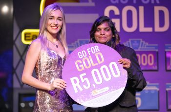 Congratulations to our Go For Gold Winner - Priscilla Burger