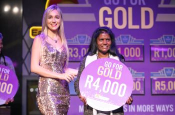Congratulations to our Go For Gold Winner - Adilutchmee Moodley