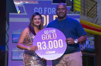Congratulations to our Go For Gold Winner - Christopher Naidoo