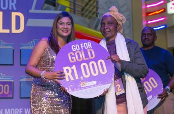 Congratulations to our Go For Gold Winner - Albertina Nxele
