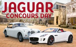 Jaguar Concours Day event at Silverstar Casino