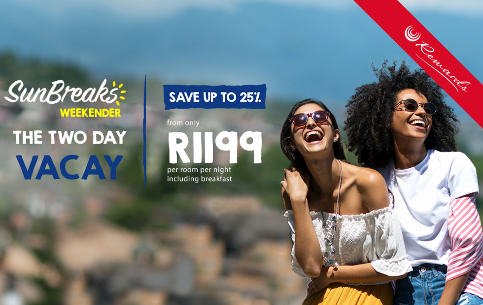Enjoy Jozi's big city vibe from R1,199