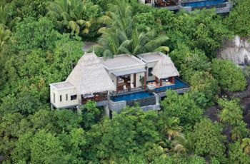Maia Luxury Resort and Spa - Aerial View