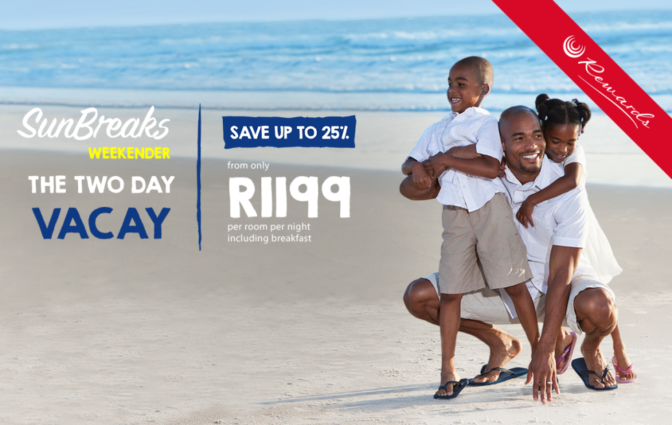 Enjoy a Durban beach break from R1,199