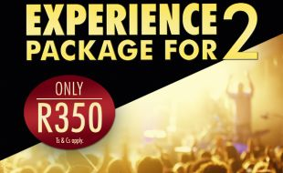 Experience Package for 2 banner offer at Gold Reef City casino