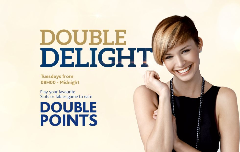 Earn Double Points Every Tuesdays!