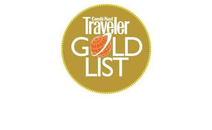 Condé Nast Traveler China Gold List Awards