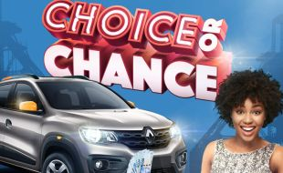 Choice Or Chance gaming promotion banner at Goldfields Casino