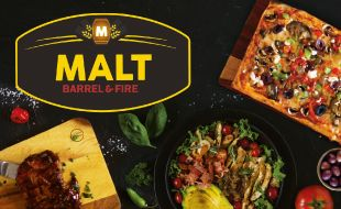 Variety of Delicious meals at Malt Barrel and Fire