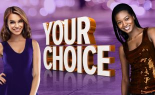 Two ladies on the Your Choice gaming promotion at the Golden Horse