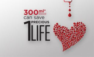 Donate blood and save THREE lives!