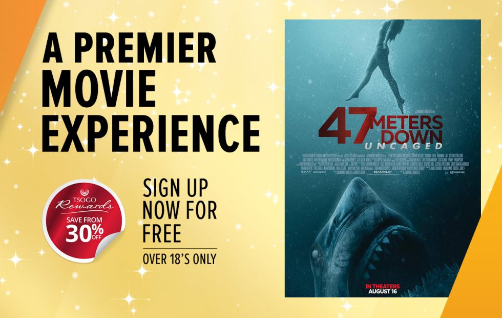 Rewards cardholders save at movies@