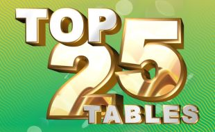 Top 25 Tables