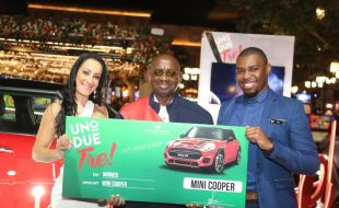 Big Mini prize for Montecasino Uno, Due, Tre! winner