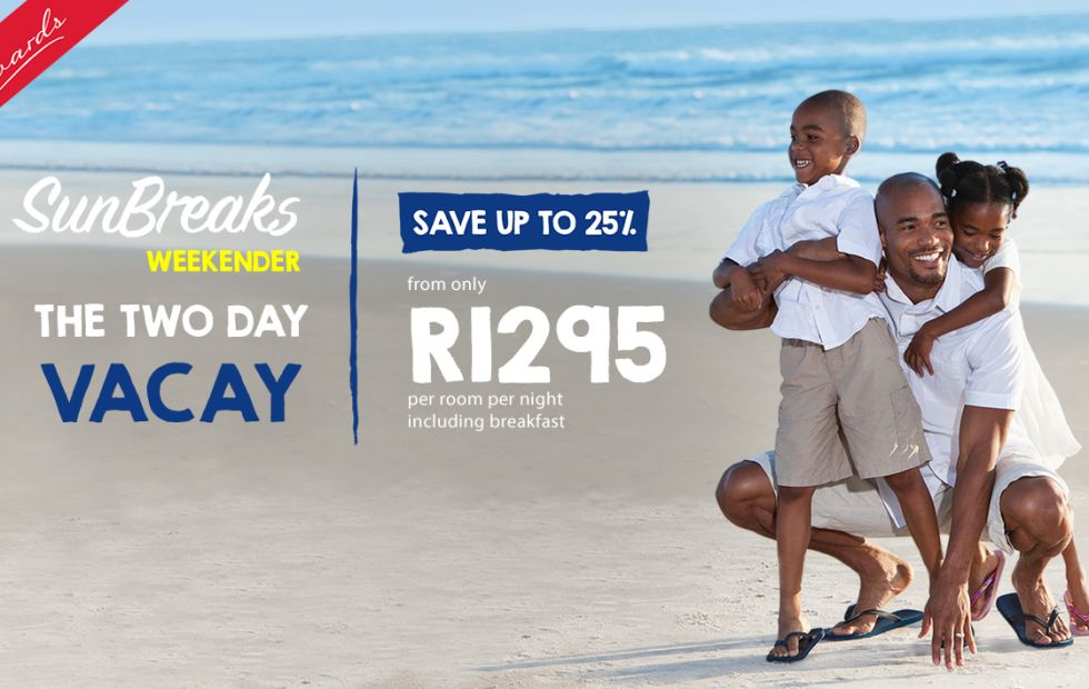 Enjoy a Durban beach break from R1,295