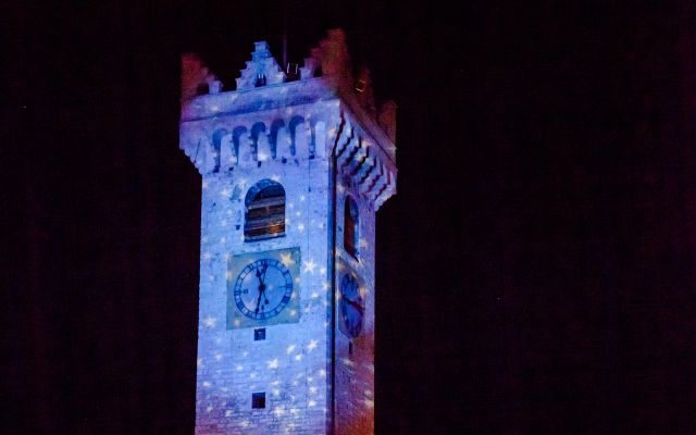 3D Festive Projection